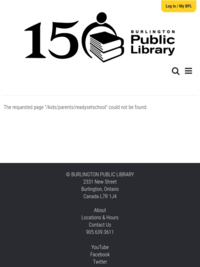 Ready, Set, School | BPL - KIDS