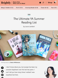 The Ultimate YA Summer Reading List — 2018 Edition | Brightly