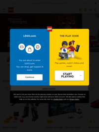 Lego.com - the home of all things Lego