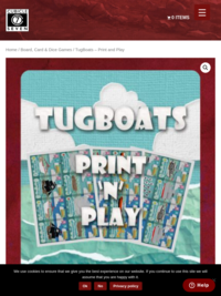 Cubicle 7 | TugBoats – Print and Play