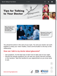 Tips for Talking to Your Doctor About Glaucoma
