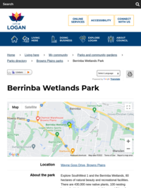 Berrinba Wetlands Park - Logan Nature Lovers