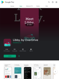 App for reading library books online: Libby, by OverDrive - Apps on Google Play