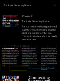 The Social Distancing Festival