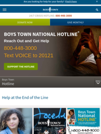 Boys Town Hotline
