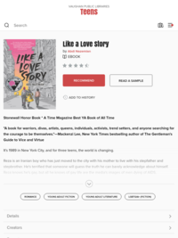 Like a Love Story - Vaughan Public Libraries - OverDrive
