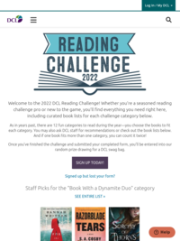 2020 DCL Reading Challenge