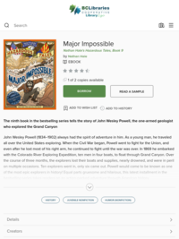Major Impossible - Nathan Hale