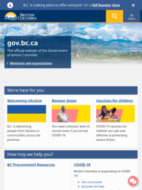 British Columbia Government