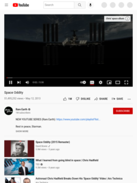 Space Oddity - YouTube