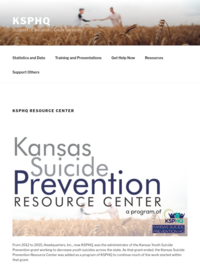 Kansas Suicide Prevention