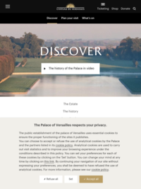Discover the Palace of Versailles Online