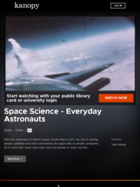 Space Science - Everyday Astronauts | Kanopy