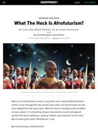 What The Heck Is Afrofuturism? | HuffPost