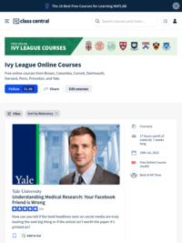 Free Online Courses Ivy League MOOCs