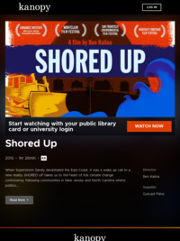 Shored Up | Kanopy