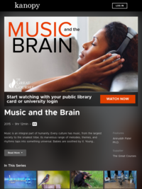 Music and the Brain | Kanopy