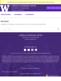Video Resources and Virtual Workshops | The University of Washington Career and Internship Center