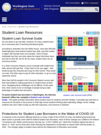 Washington Attorney General's Office Student Loan Survival Guide