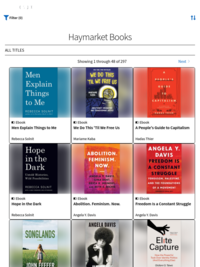 200+ Haymarket Books available on Hoopla for FREE