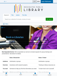 DPL: Book-A-Librarian
