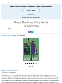 Things That Make White People Uncomfortable by Michael Bennett (KIDS)