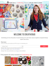 Creativebug.com. Thousands of free award-winning art & craft video classes for DIY, crafters and makers