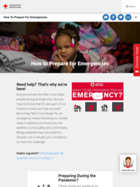 Red Cross: How to Prepare for Emergencies