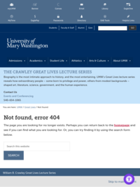 Great Lives Chappell Lecture series 2014