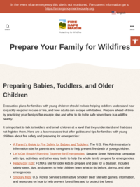 Fire Safe Marin: Prepare Your Family