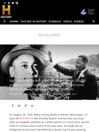 The Civil Rights Movement in Photos, from Emmett Till's Murder to 'I Have a Dream' - HISTORY