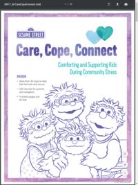 Care, Cope, Connect