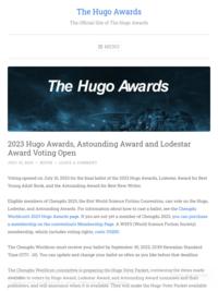 EPL Picks: 2018 Hugo Award Winners | Edmonton Public Library