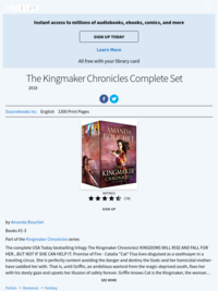 The Kingmaker Chronicles by Amanda Bouchet (complete set)