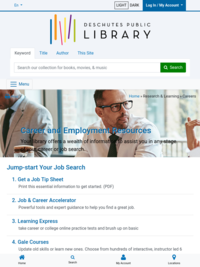 DPL: Career and Employment Resources