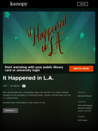Watch It Happened in L.A. now | Kanopy