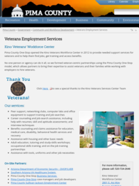 Veterans Employment Services - Pima County