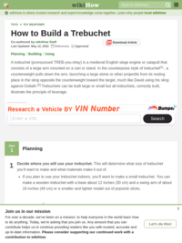 wikiHow to Build a Trebuchet