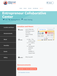 Hillsborough County - Entrepreneur Collaborative Center