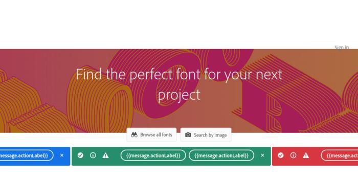 webfonts typekit