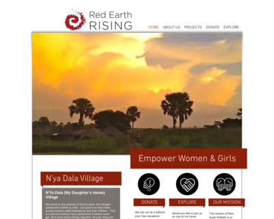 Screenshot of http://www.redearthrising.org/