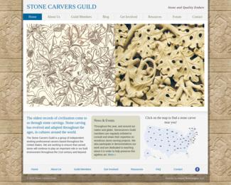 Screenshot of http://www.stonecarversguild.com/