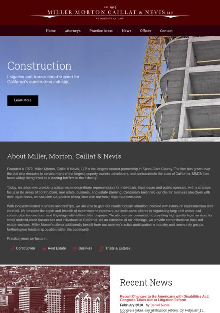 Miller, Morton, Caillat & Nevis LLP