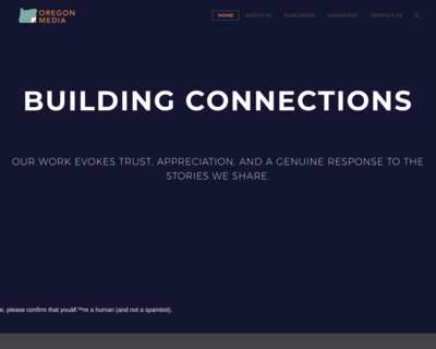 Screenshot of http://www.oregonmedia.com/