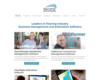 Screenshot of http://www.pacific-solutions.com/