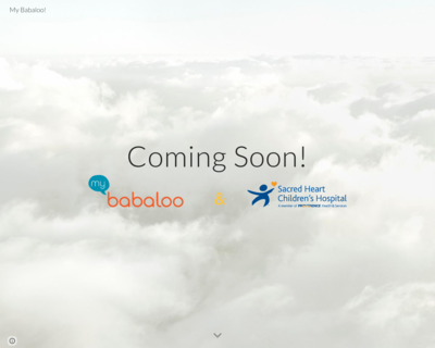 Screenshot of http://www.my-babaloo.com/