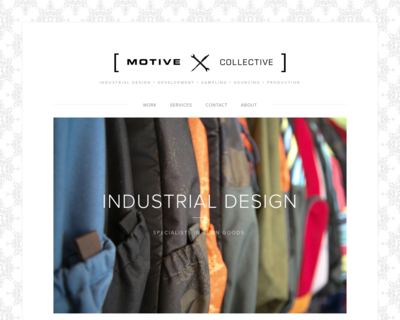 Screenshot of http://www.motivecollective.com/