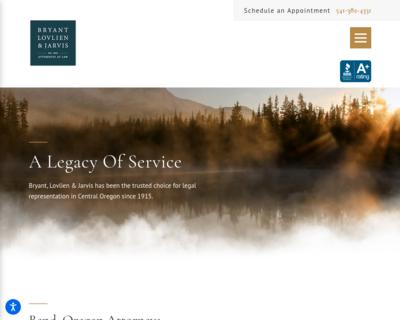 Screenshot of http://www.bljlawyers.com/