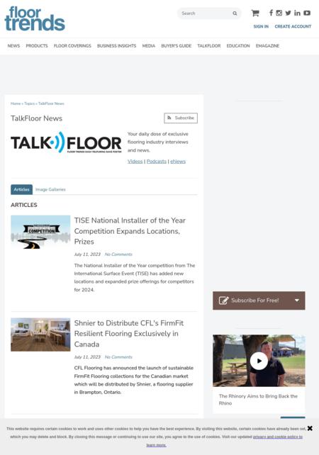 Talk Floor