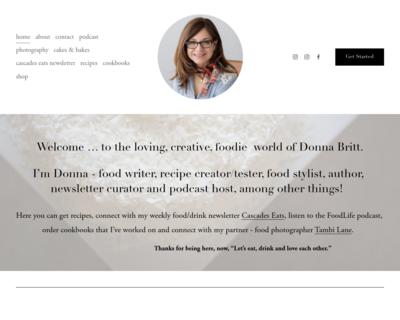 Screenshot of http://www.foodlifelove.com/